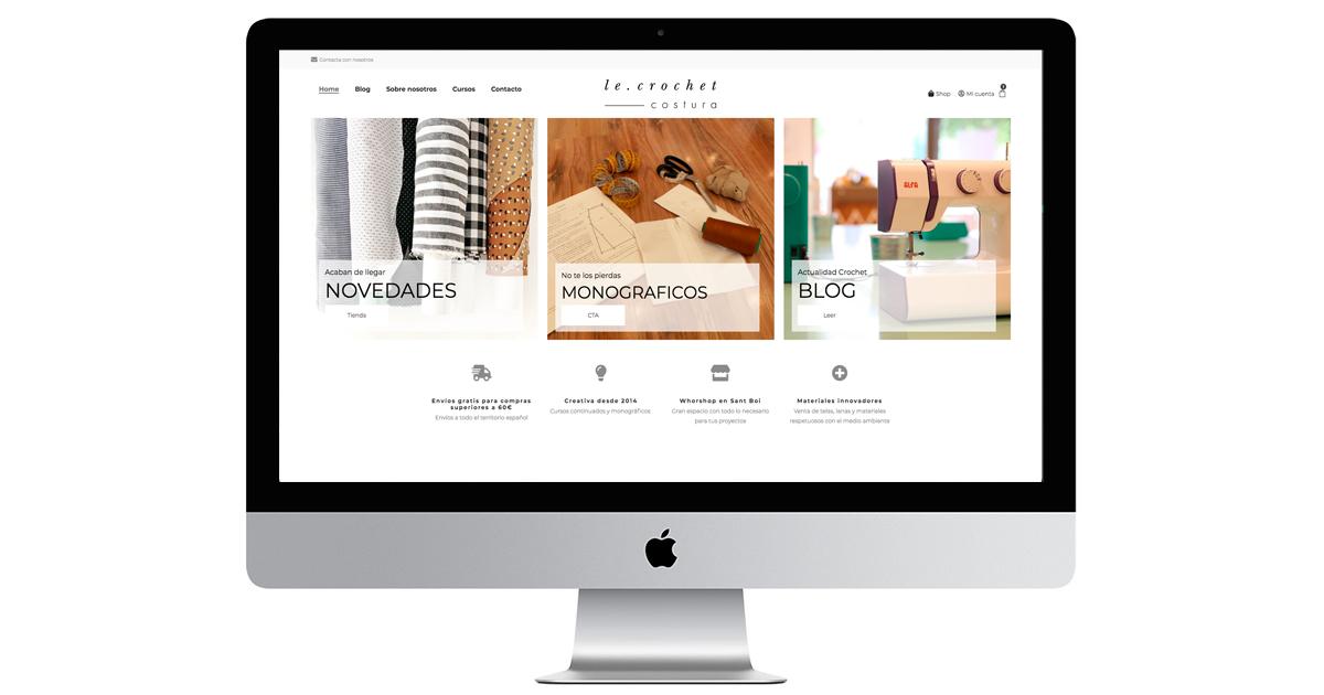 Nueva web y Tienda online
